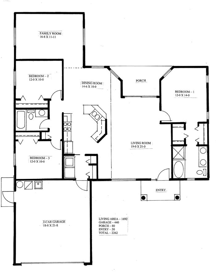 The Sierra 3 Bedroom 2 Bathroom Model Home In Bushnell